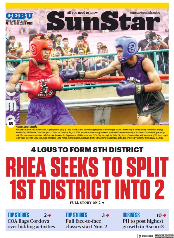 Read full digital edition of Sun.Star Cebu newspaper from Philippines