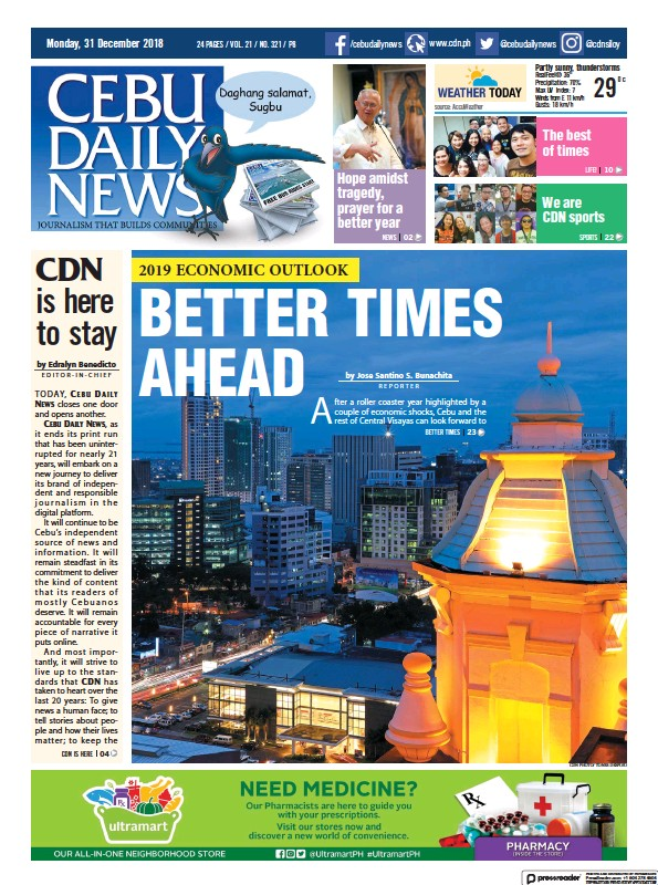 Read full digital edition of Cebu Daily News newspaper from Philippines