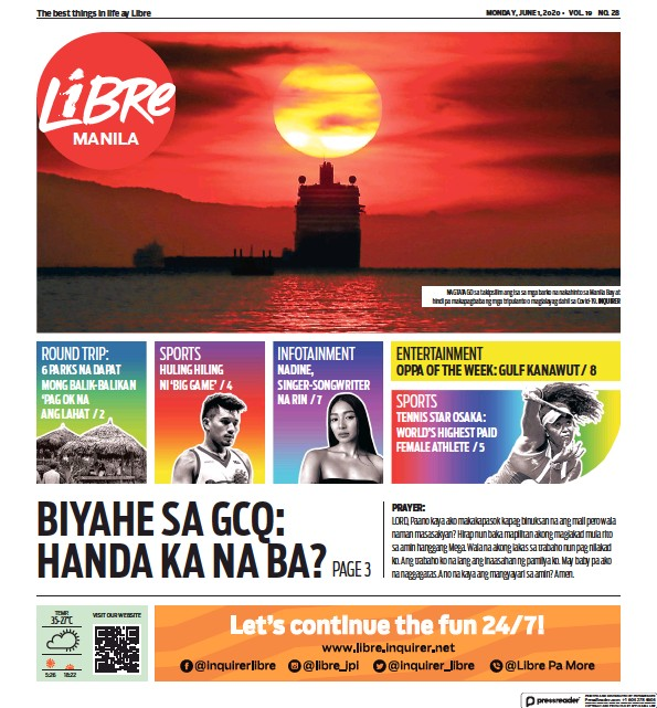 Read full digital edition of Inquirer Libre newspaper from Philippines