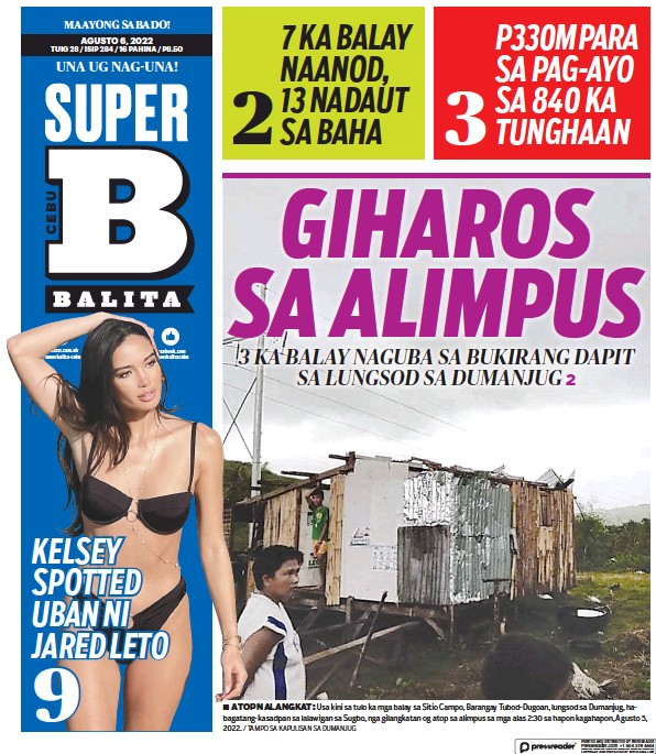 Read full digital edition of SuperBalita Cebu newspaper from Philippines