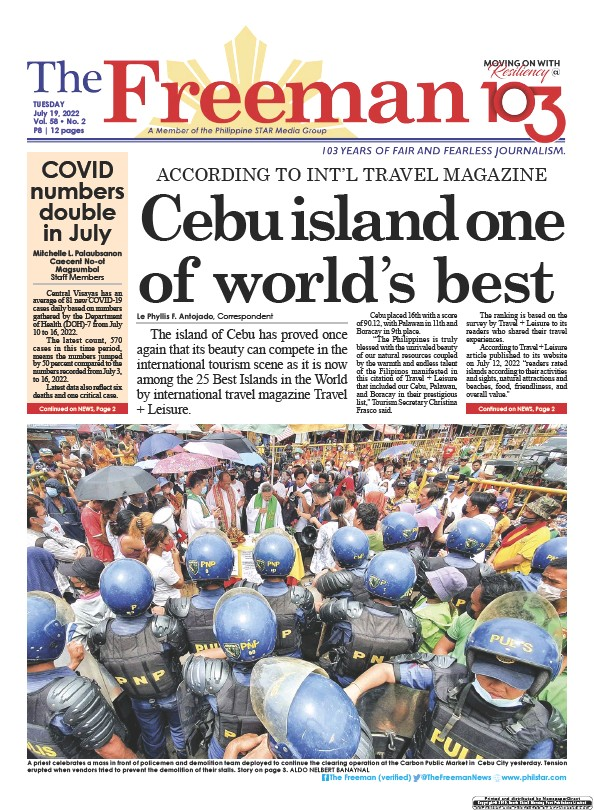 Read full digital edition of The Freeman newspaper from Philippines