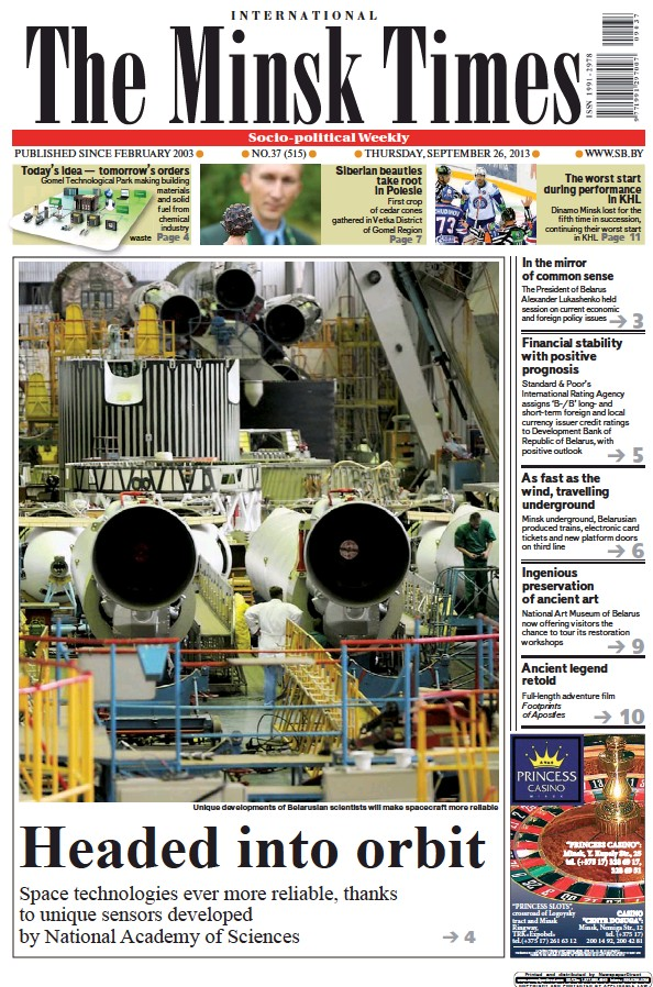 Read full digital edition of The Minsk Times newspaper from Belarus