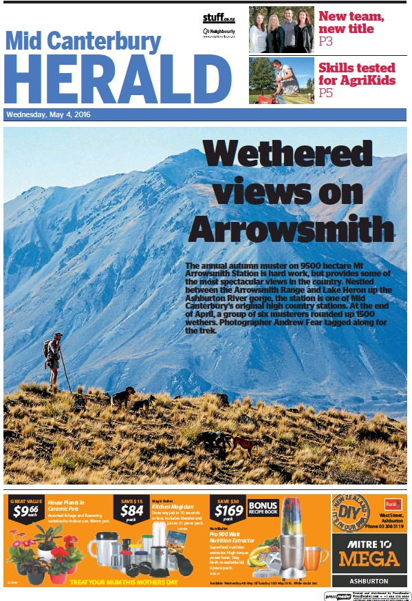 Read full digital edition of Mid Canterbury Herald newspaper from New Zealand