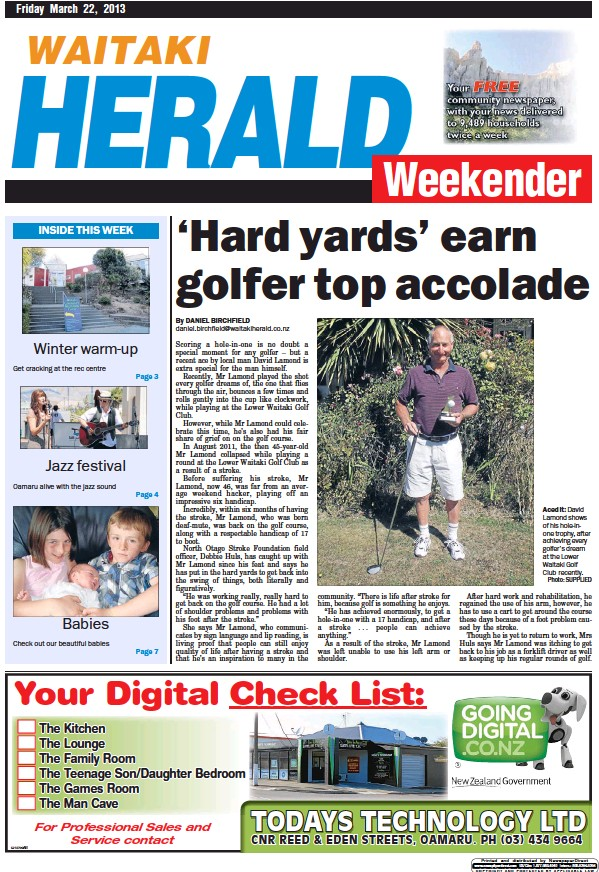 Read full digital edition of Waitaki Weekender newspaper from New Zealand