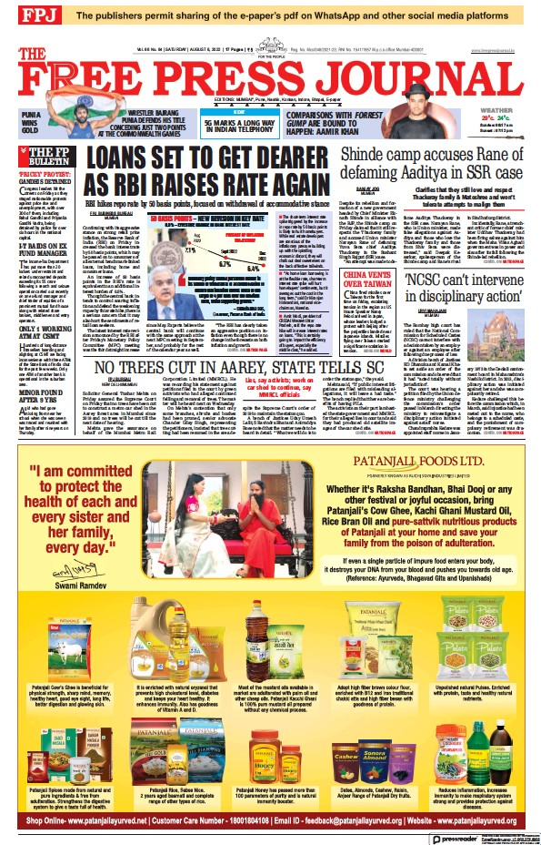 Read full digital edition of The Free Press Journal newspaper from India
