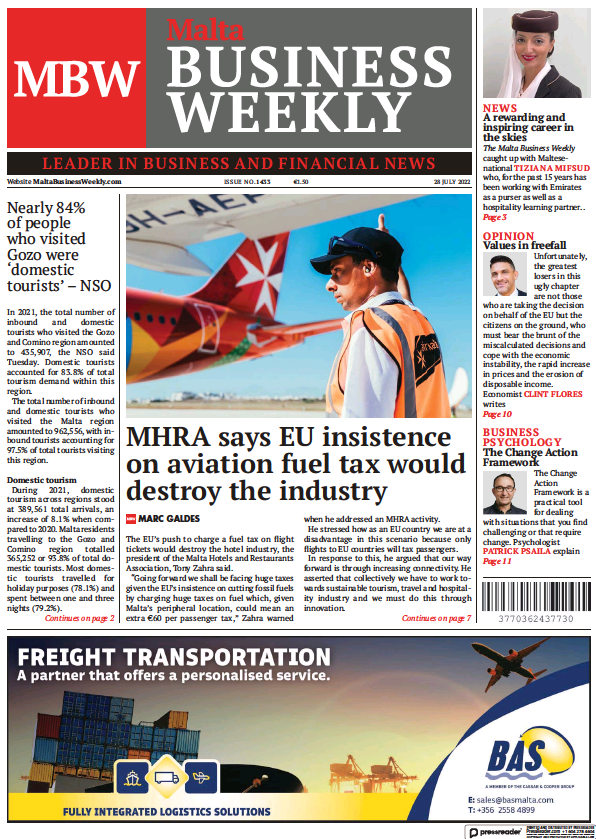 Read full digital edition of The Malta Business Weekly newspaper from Malta