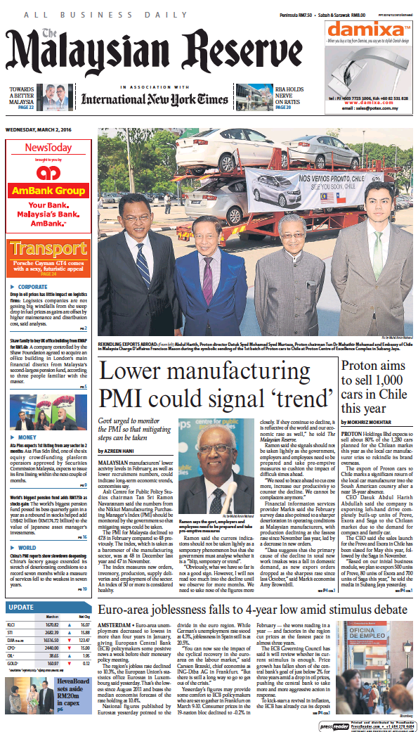 Read full digital edition of The Malaysian Reserve newspaper from Malaysia